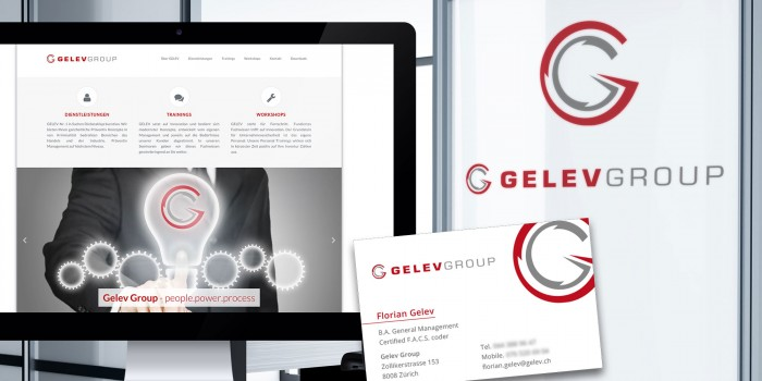 Gelev Group Corporate Design