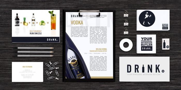 Drink.ch Grafikdesign