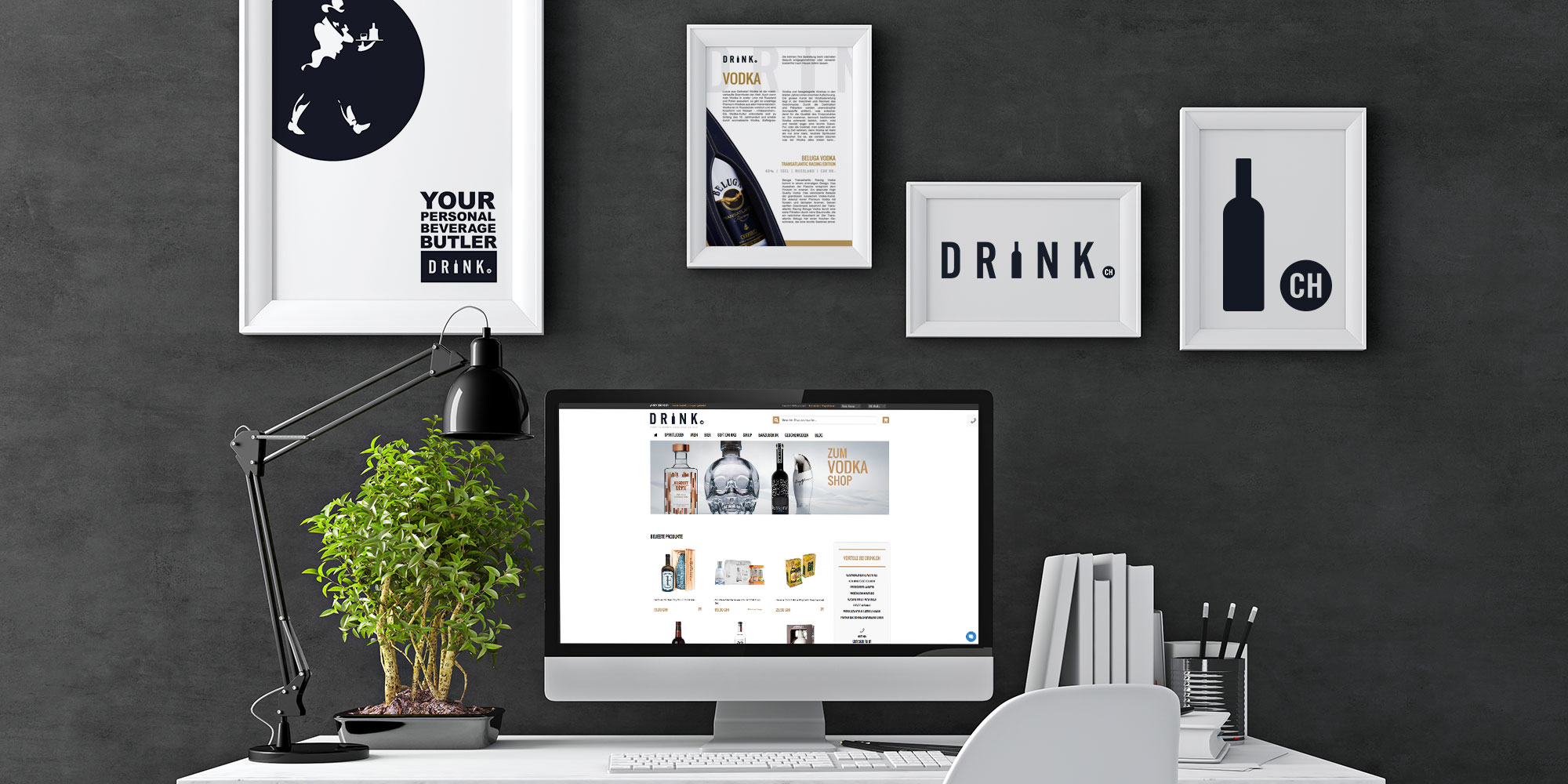 Drink.ch Corporate Design