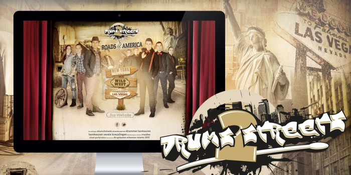 drums2streets Webdesign