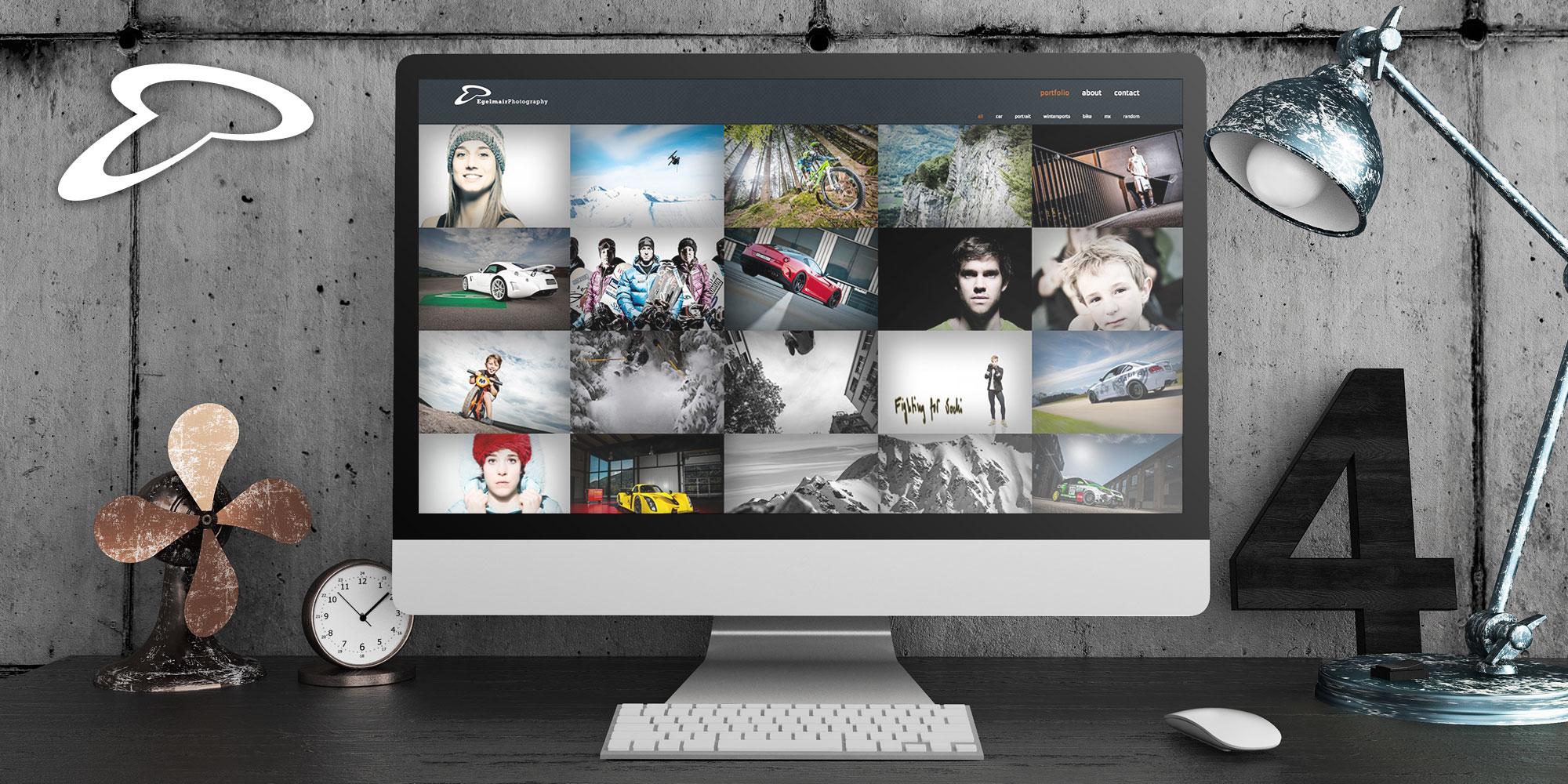 Egelmair Photography Webdesign