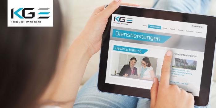 KG Immobilien Webdesign
