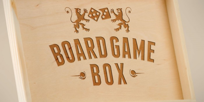 Logodesign Board Game Box