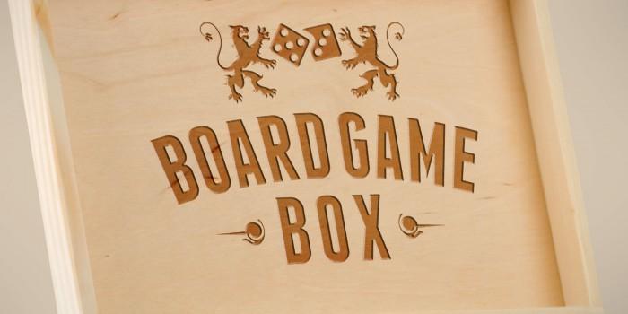 Logodesign Board Game Box