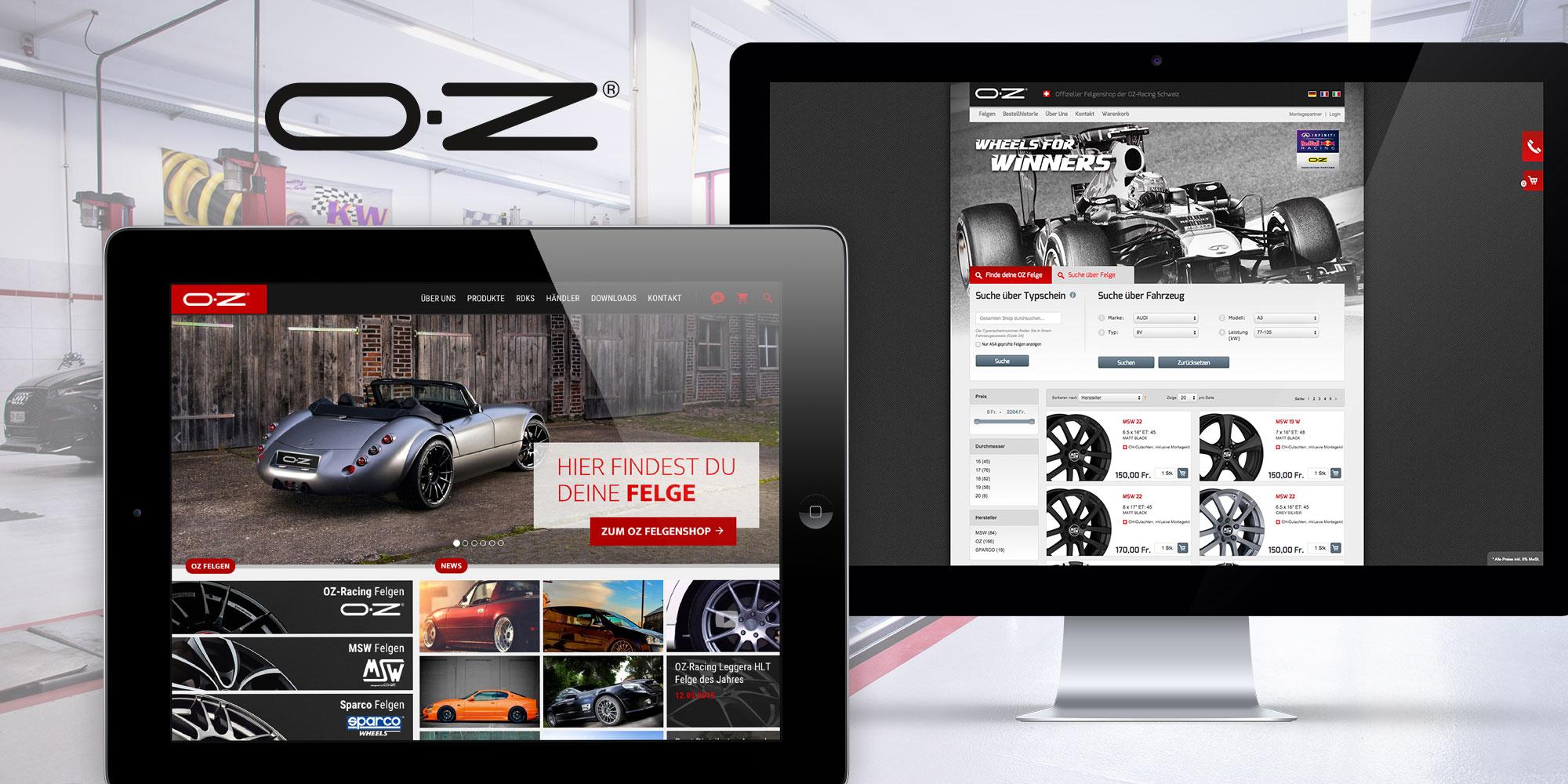 OZ Racing Onlineshop