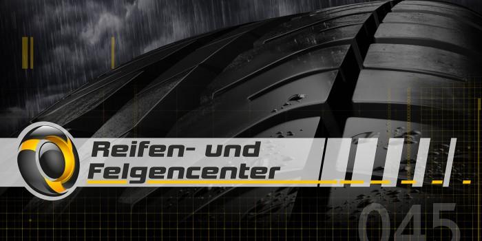 reifen- und felgencenter Logodesign