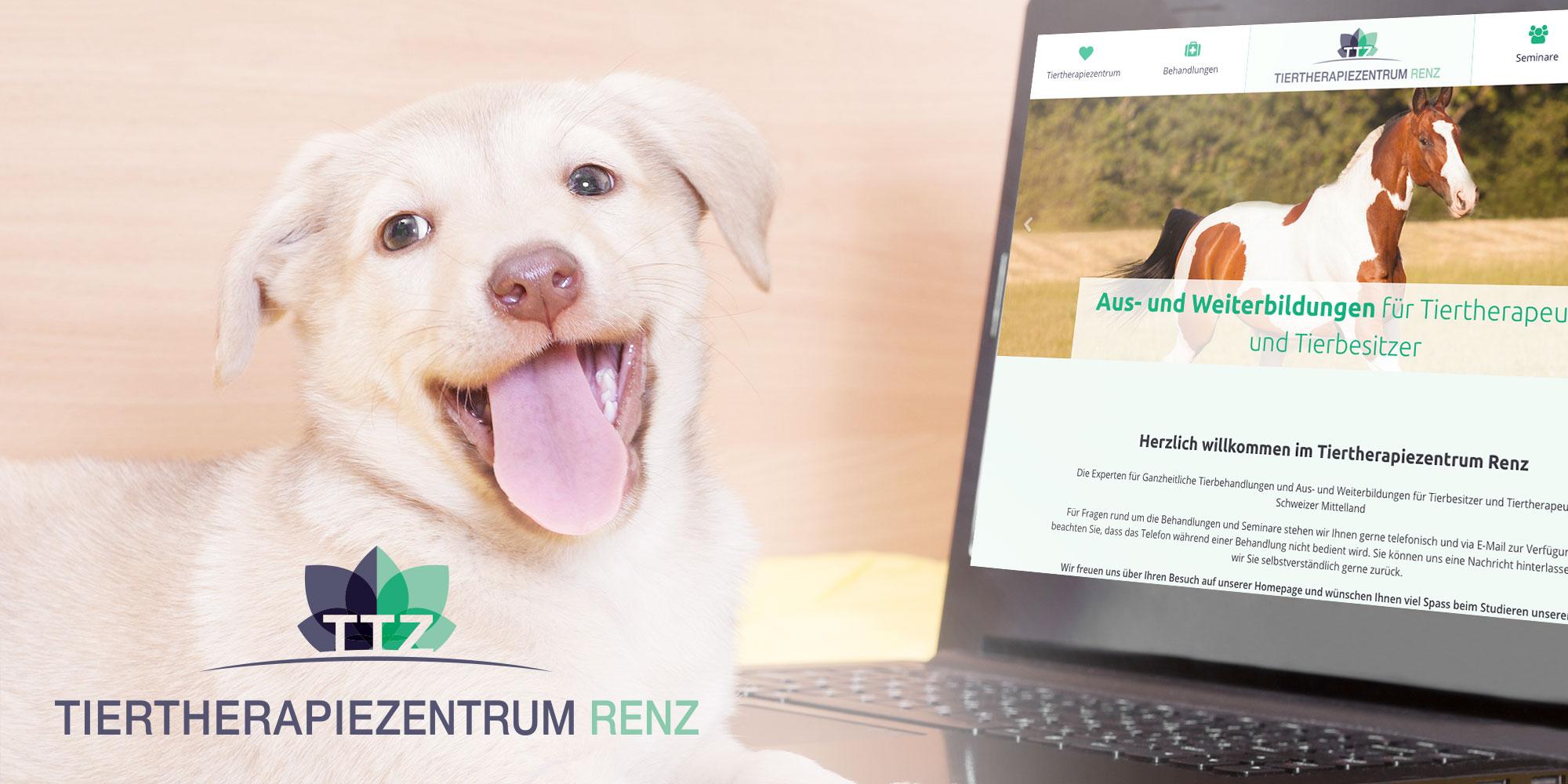 tiertherapiezentrum_renz_logodesign