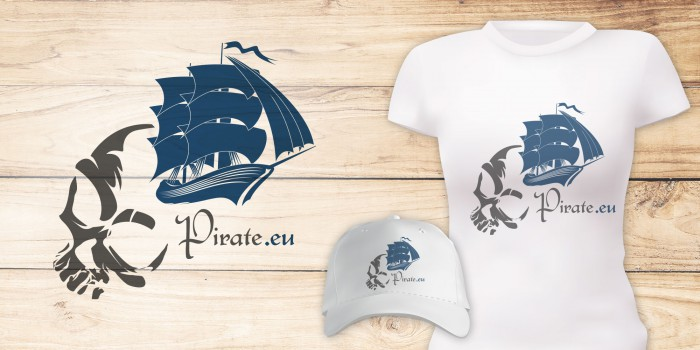 Pirate.eu Logodesign