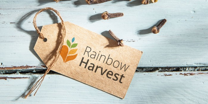 Rainbow Harvest Logodesign