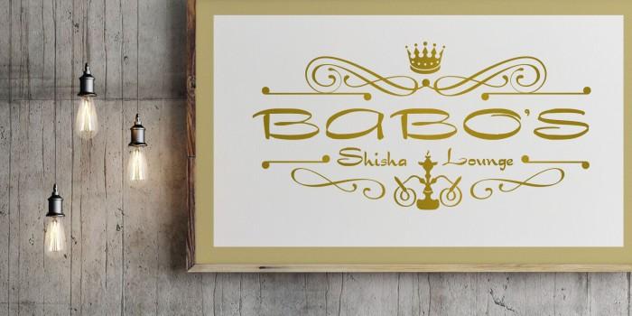 Babos Shisha Lounge Logodesign